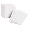 Ruled Mini Index Cards, 3 X 2 1/2, White, 200/pack