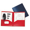 Oxford® Poly Twin-Pocket Folder