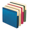 Recycled Paper Color File Pocket, Letter, 4 colors, 4/Pack