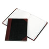 Boorum & Pease® Log Book with Red and Black Cover