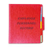 Picture of Personnel Folders 13 Cut Top Tab Letter Red
