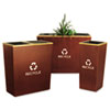 Ex-Cell Metro Collection™ Recycling Receptacle
