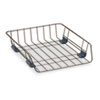 Front Load Wire Desk Tray, Wire, Black