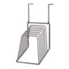 SORTER,WALL,6TIER,WIRE,BK