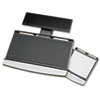Office Suites Adjustable Keyboard Manager, 21-1/4w X 10d, Black/silver