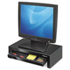Adjustable Monitor Riser with Storage Tray, 16 x 9 1/2 x 4 1/2-6