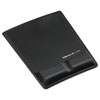 Memory Foam Wrist Support w/Attached Mouse Pad, Black