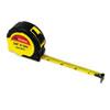 Extramark Power Tape, 5/8 X 12ft, Steel, Yellow/black