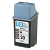 HP C6614D - HP 20 Inkjet Cartridge