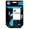 HP No. 17 TriColor Ink Cartridge DESKJET 840C 842C 843C
