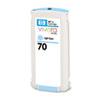 HP 70 130-ml Light Cyan Ink Cartridge for Z2100/Z3100/Z3200