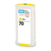 HP 70 130-ml Yellow Ink Cartridge for Z2100/Z3100/Z3200