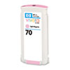 HP 70 130-ml Light Magenta Ink Cartridge for Z2100/Z3100/Z3200