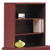 Picture of 10700 Series Bookcase Hutch 32 58w x 14 58d x 37 18h Mahogany