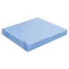 Sontara Ec Engineered Cloths, 12 X 12, Blue, 100/pack, 10 Packs/carton