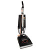 Conquest Bagless Upright Vacuum, 25lb, Black
