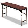 TABLE,18X60,FOLDING,MAH