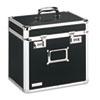 Locking Security Storage Box, Letter, 13 1/2w x 10 1/2d x 13 1/4h, Black