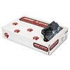 Low-Density Can Liners, 40-45 Gallon, .7mil, Black, 100/carton
