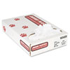 Industrial Strength Commercial Can Liners, 12-16gal, .5mil, White, 500/carton