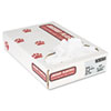 Industrial Strength Commercial Can Liners, 20-30gal, .9mil, White, 100/carton
