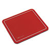 SRV Optical Mouse Pad, Nonskid Base, 9 x 7-3/4, Red