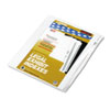 "90000 Series Legal Exhibit Index Dividers, 1/10 Cut Tab, ""Exhibit A"", 25/Pack"