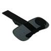 Articulating Keyboard Platform With Smartfit System, 30-1/2 X 11-3/4, Dark Gray