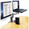 Kensington® Column Mount Notebook-Monitor Dual Arm