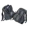 Contour Laptop Backpack, Nylon, 15 3/4 x 9 x 19 1/2, Black