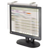 """Lcd Protect Privacy Antiglare Deluxe Filter, 17""""-18"""" Lcd, Silver"""