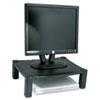 Single Level Height-Adjustable Stand, 17 X 13 1/4 X 3 To 6 1/2, Black