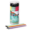 Classroom Brush Assortment, Sizes 1-6, Synthetic, Round, 144/Pack