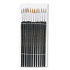 Artist Brush, Size 6, Camel Hair, Round, 12/Pack
