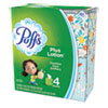 Plus Lotion Facial Tissue, White, 1-Ply, 8 1/5 X 8 2/5, 56/box, 24/carton