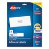 LABEL,ADD,W/P,1X4,500/PK