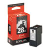 Lexmark 28A Black Print Cartridge