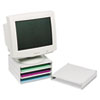 Mead-Hatcher® by Master® Stackable Steel Monitor Riser