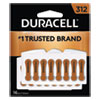 DURACELL PRODUCTS COMPANY DA312B16 Hearing Aid Battery, #312, 16/Pack