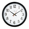 Gallery Wall Clock, 16, Black