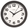 Kenwick Wall Clock, 13-1/2, Black