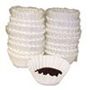Coffee Filters, Paper, Basket Style, 12 to 15 Cups, 800/Carton 620014