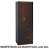 Aberdeen Series Personal Storage Tower, Box 1 Of 2, 24w x 24d x 68-3/4h, Mocha