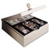 Heavy Duty Steel Drawer Safe, Key Lock, Sand