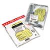 Tamper-Evident Deposit/cash Bags, Plastic, 12 X 16, Clear, 100 Bags/box