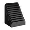 Cashier Pad Rack, Steel, 10 Pockets, 8 W X 6-3/4 D X 11 H, Black