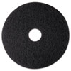 High Productivity Floor Pad 7300, 12 Diameter, Black, 5/carton