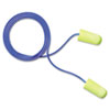 E·A·Rsoft Yellow Neon Soft Foam Earplugs, Corded, Regular Size, 200 Pairs