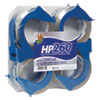 "HP260 PACKAGING TAPE WITH DISPENSER, 3"" CORE, 1.88"" X 60 YDS, CLEAR, 4/PACK"
