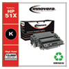 REMANUFACTURED BLACK HIGH-YIELD TONER CARTRIDGE, REPLACEMENT FOR HP 51X (Q7551X), 13,000 PAGE-YIELD